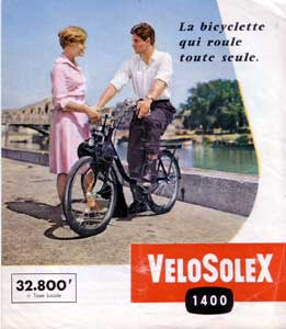 Velosolex: the bicycle that rolls by itself