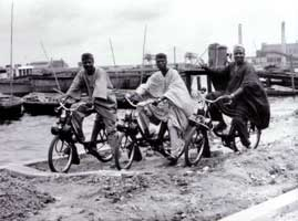 Nigerians on solex 1700