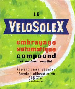 velosolex embrayage automatique