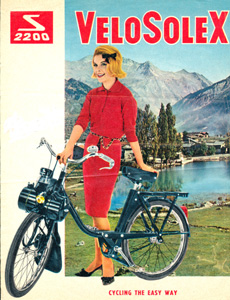 Solex  2200 Cycling the easy way
