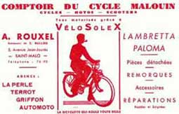 Comptoir du Cycle Malouin Velosolex