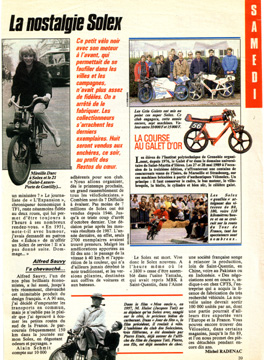 Journal TV Nostalgie Solex