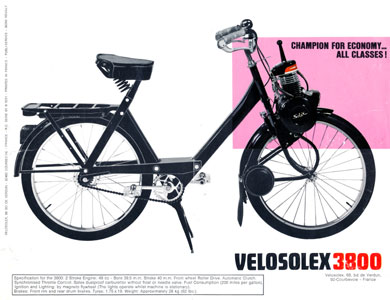 Solex 3800 champion for economy all classes !