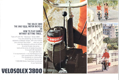 The Solex 3800 The only real motor bicycle