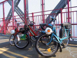 Solex in the williamsburg bridge