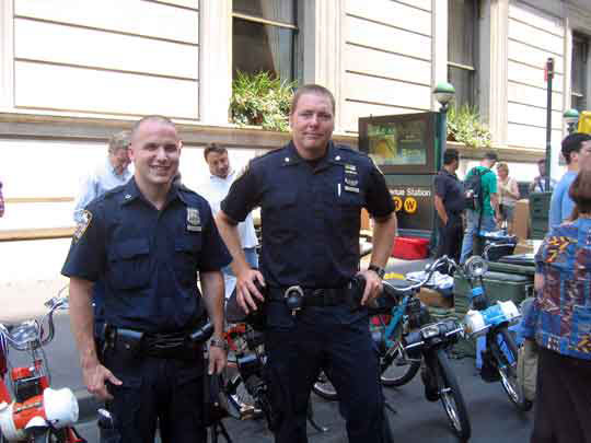 Policiers New-Yorkais
