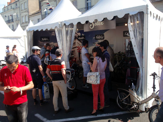 Le stand Solex
