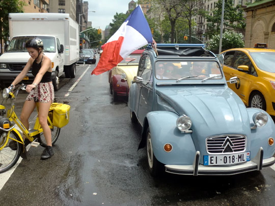 A 2 CV Citroën from Paris