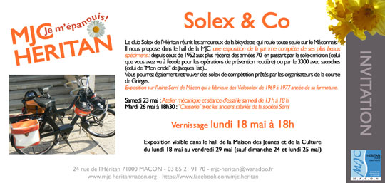 Expostion VeloSoleX Mâcon