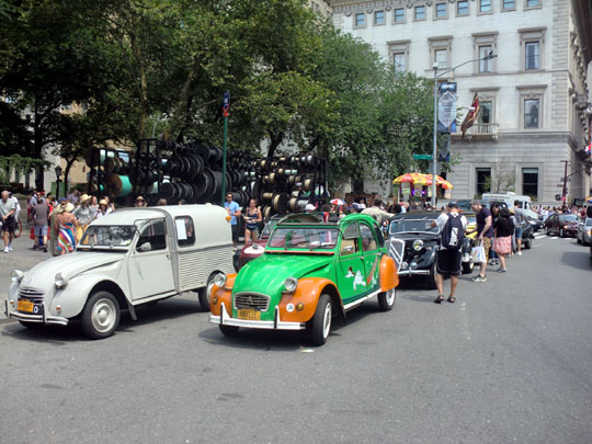 Citroëns at Bastille Day