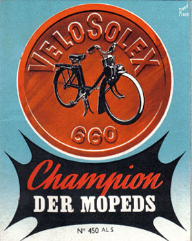 Velosolex 660 Champion der Moped