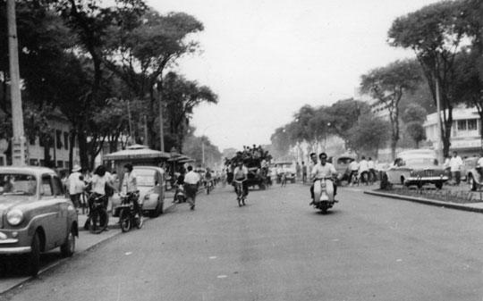 Manifestation dans  Saïgon