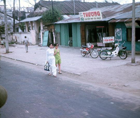 Un Vélosolex à Da Nang 1967