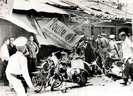 Solex attaque terroriste Saigon 1966