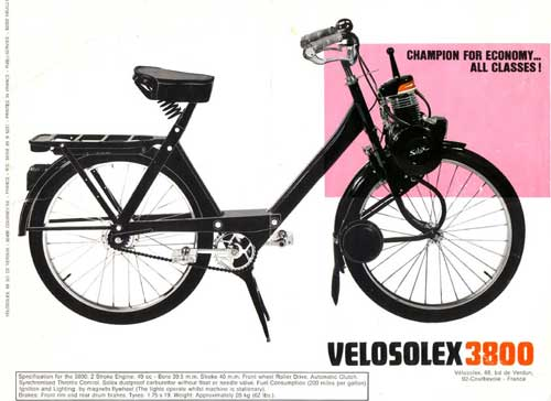 VELOSOLEX 3800 Champion economy...all classes !