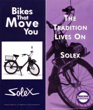 Solex 3800 the tradition lives on....
