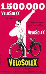 VeloSolex 45 USAin use