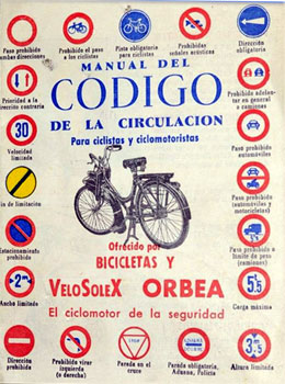 Codigo de la circulation VeloSoleX-Orbea