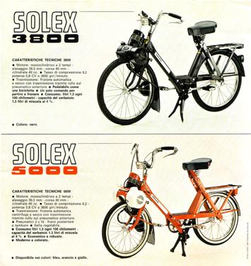 solex 3800 ou 5000