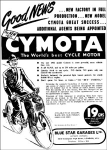 Cycle motor Cymota