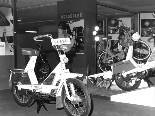 Solex Flash Salon de Paris 1970