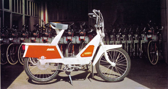 Solex Flash et Solex 3800 Export Courbevoie 1969