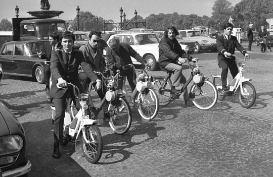 Solex Flash place de la Concorde Paris
