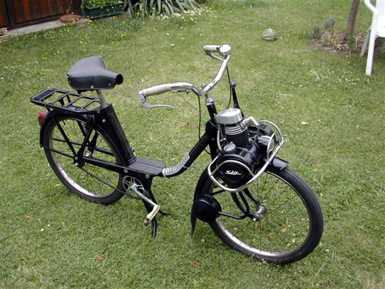 A Solex 1700, as yet unaware that it is about to leave its native land