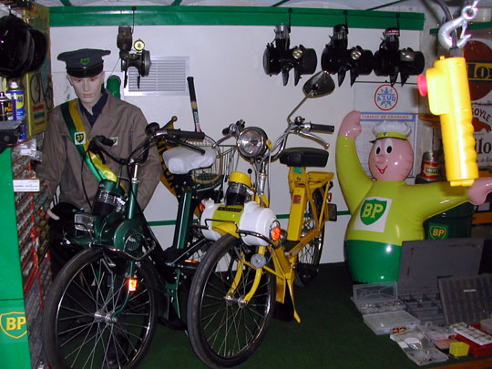 The Solex 4600 wil have a place in the museum alongside the colors of BP