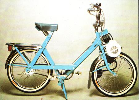 Solex 5000 bleu